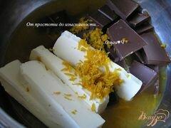 «Брауни с апельсином» - приготовления блюда - шаг 1
