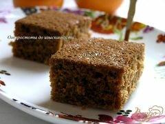 «Брауни с апельсином» - приготовления блюда - шаг 6