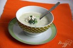 «Брокколи крем-суп с творожной горгонзолой» - приготовления блюда - шаг 10