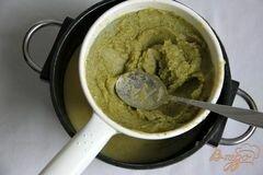 «Брокколи крем-суп с творожной горгонзолой» - приготовления блюда - шаг 7