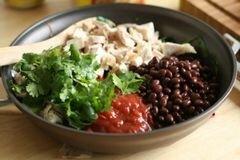 «Мексиканская лазанья» - приготовления блюда - шаг 4