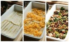 «Мексиканская лазанья» - приготовления блюда - шаг 6