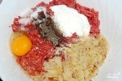 «Котлеты с сыром и помидорами» - приготовления блюда - шаг 4
