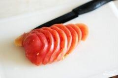 «Котлеты с сыром и помидорами» - приготовления блюда - шаг 7
