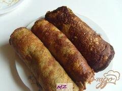 «Рулетики из печени» - приготовления блюда - шаг 10