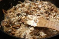 «Грибной соус» - приготовления блюда - шаг 3