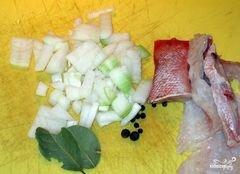 «Суп из морского окуня» - приготовления блюда - шаг 2