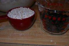 «Овсяное печенье с изюмом» - приготовления блюда - шаг 6