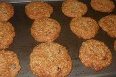 «Овсяное печенье с изюмом» - приготовления блюда - шаг 8