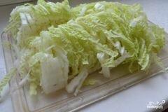 «Салат со стручковой фасолью» - приготовления блюда - шаг 4