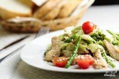«Салат со стручковой фасолью» - приготовления блюда - шаг 8
