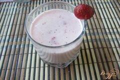 «Клубничное молоко» - приготовления блюда - шаг 6