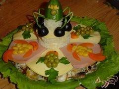 """«Салат """"золотая рыбка""""» - приготовления блюда - шаг 7"""