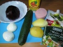 «Свекольник - холодный суп» - приготовления блюда - шаг 1