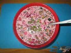 «Свекольник - холодный суп» - приготовления блюда - шаг 8