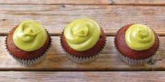 «Шоколадные маффины с глазурью из авокада» - приготовления блюда - шаг 8