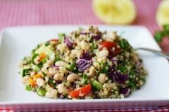 «Салат с киноа» - приготовления блюда - шаг 2