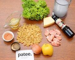 «Паста с креветками» - приготовления блюда - шаг 1