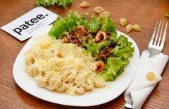 «Паста с креветками» - приготовления блюда - шаг 11