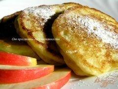 «Оладьи с кускусом» - приготовления блюда - шаг 7