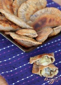 """«Афганские постные пирожки """"Boulanee afgani""""» - приготовления блюда - шаг 11"""