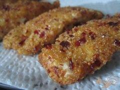 «Куриные полоски в хрустящей панировке (nuggets)» - приготовления блюда - шаг 7
