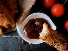 «Куриные полоски в хрустящей панировке (nuggets)» - приготовления блюда - шаг 8