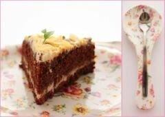 «Морковно-шоколадный торт с кремом» - приготовления блюда - шаг 1