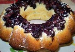 «Кекс с вишнями» - приготовления блюда - шаг 8