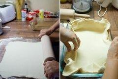 «Пирог с рыбой» - приготовления блюда - шаг 2