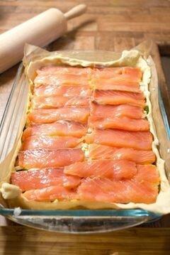 «Пирог с рыбой» - приготовления блюда - шаг 6