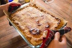 «Пирог с рыбой» - приготовления блюда - шаг 8
