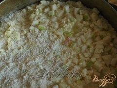 «Яблочно-творожный насыпной пирог» - приготовления блюда - шаг 2