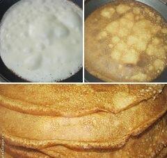 «Блинчики с творогом и изюмом» - приготовления блюда - шаг 1
