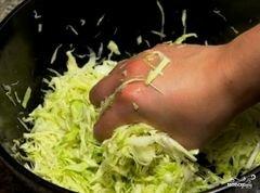 «Салат из капусты и свёклы» - приготовления блюда - шаг 6