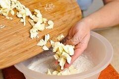 «Пирог с клубникой и яблоками» - приготовления блюда - шаг 2