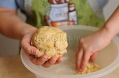 «Пирог с клубникой и яблоками» - приготовления блюда - шаг 5