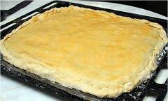 «Пирог с сыром и мясом» - приготовления блюда - шаг 7