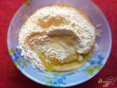 «Оладьи из бананов» - приготовления блюда - шаг 4