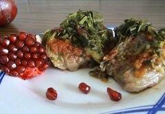 «Вкусный тандем - мясо с гранатом» - приготовления блюда - шаг 6