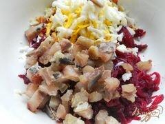 «Бутерброды с сельдью и свеклой» - приготовления блюда - шаг 2