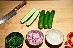 «Салат из сладкой кукурузы» - приготовления блюда - шаг 2