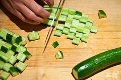«Салат из сладкой кукурузы» - приготовления блюда - шаг 4