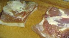 """«Мясо в """"майке""""» - приготовления блюда - шаг 1"""