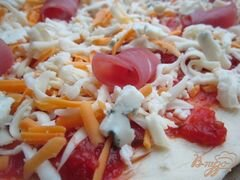 «Сырная пицца» - приготовления блюда - шаг 5