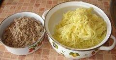 «Картофельные зразы» - приготовления блюда - шаг 1