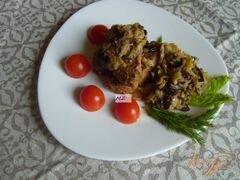 «Свинина запеченная в рукаве с соусом из лука порея и чернослива» - приготовления блюда - шаг 7