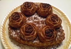 «Пирог с тертой айвой» - приготовления блюда - шаг 8