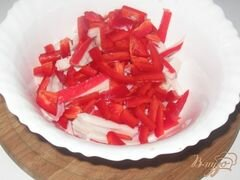 """«Салат """"Красное море""""» - приготовления блюда - шаг 2"""