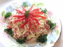 """«Салат """"Красное море""""» - приготовления блюда - шаг 6"""